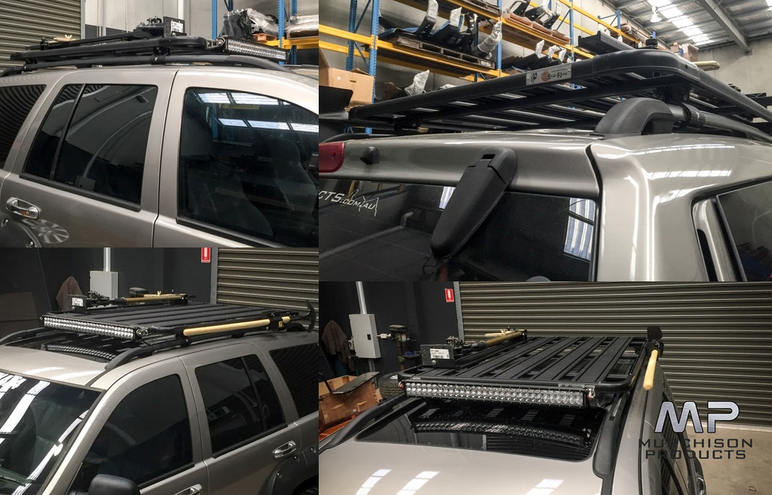 K9 Wj Grand Cherokee Roof Rack Murchison Products 07